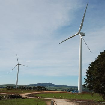 Wind farm turbines can affect values of some rural properties.