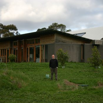 Tim Adam's self-sufficient 7-star energy efficient Gherang home.