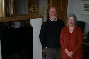 Tim Adams and Pip Watt live in a 7-star energy efficient house at Gherang and have no utility bills.