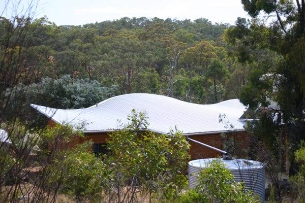 Sustainable straw bale house